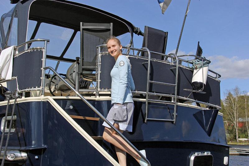 Pelle P veneellä