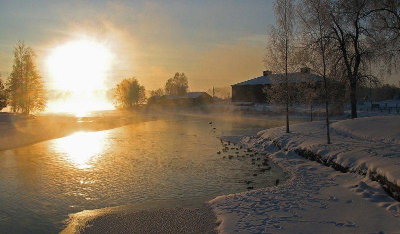 Talvilomalle Savonlinnaan
