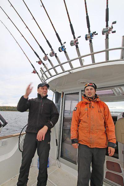 Saimaa Holiday Oravissa kalaretkellä