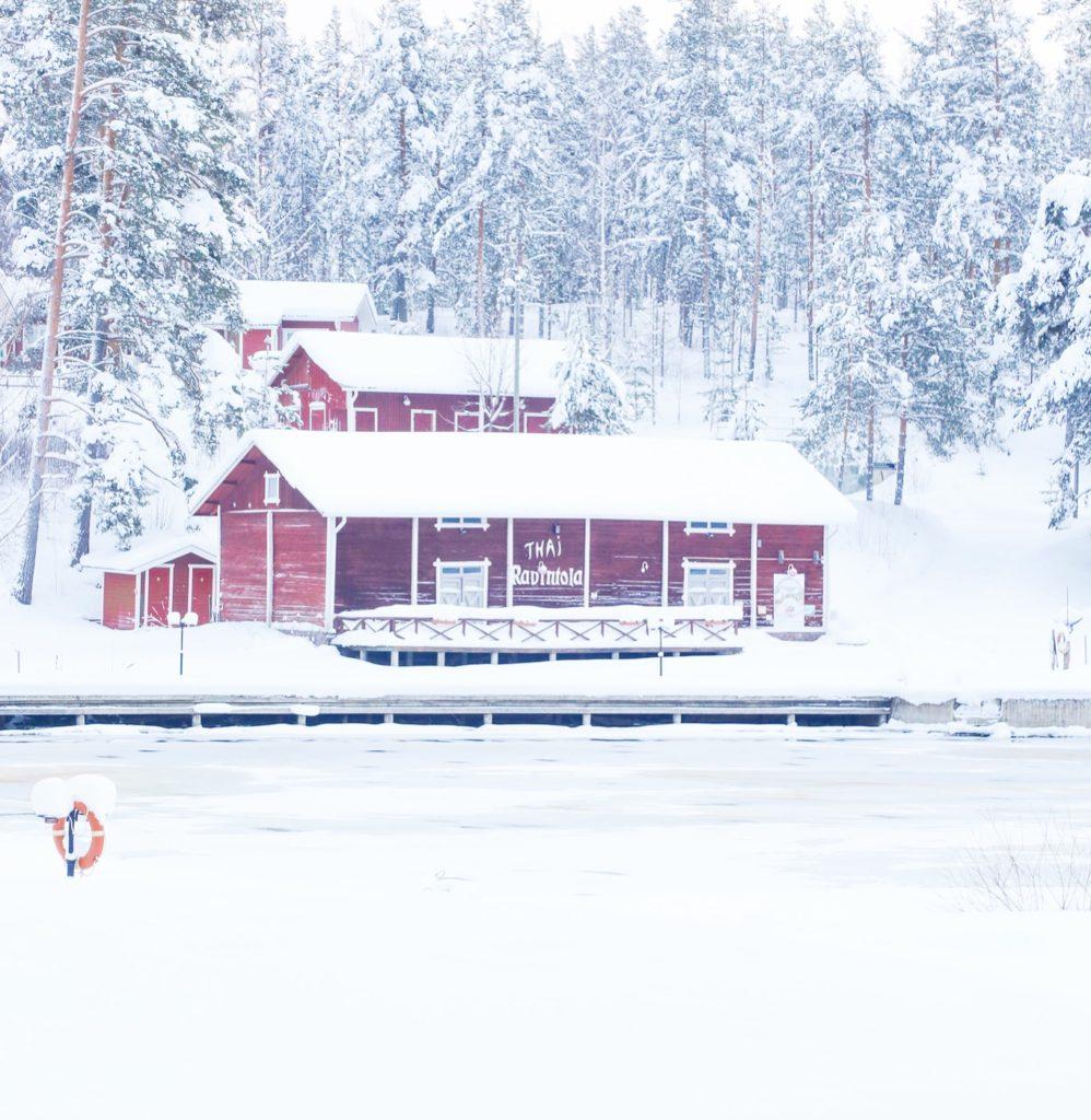 Talviloma Saimaalla